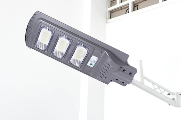 Đèn đường LED năng lượng mặt trời liền thân